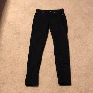 Michael Kors black skinny jeans Sz 2